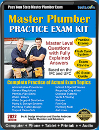 Master Plumber Practice Test Sample Questions
